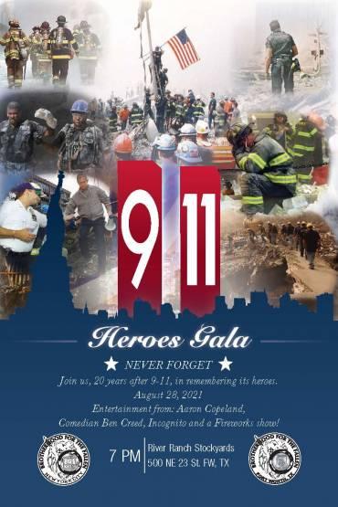 9/11 Heroes Gala